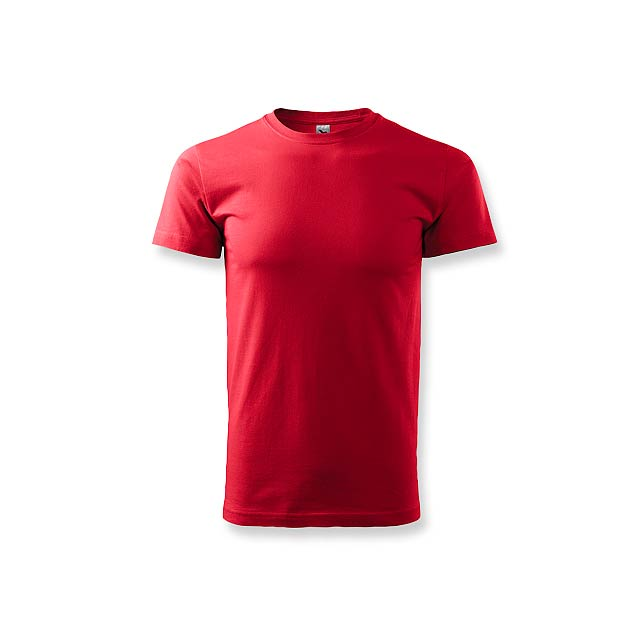 BASIC T-160 - unisex tričko 160 g/m2, vel. XS, ADLER - červená