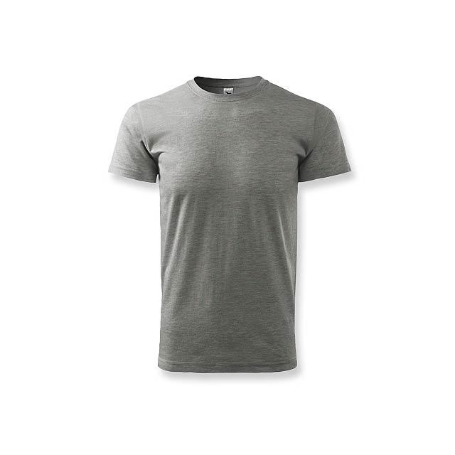 BASIC T-160 - unisex tričko 160 g/m2, vel. XS, ADLER - šedá
