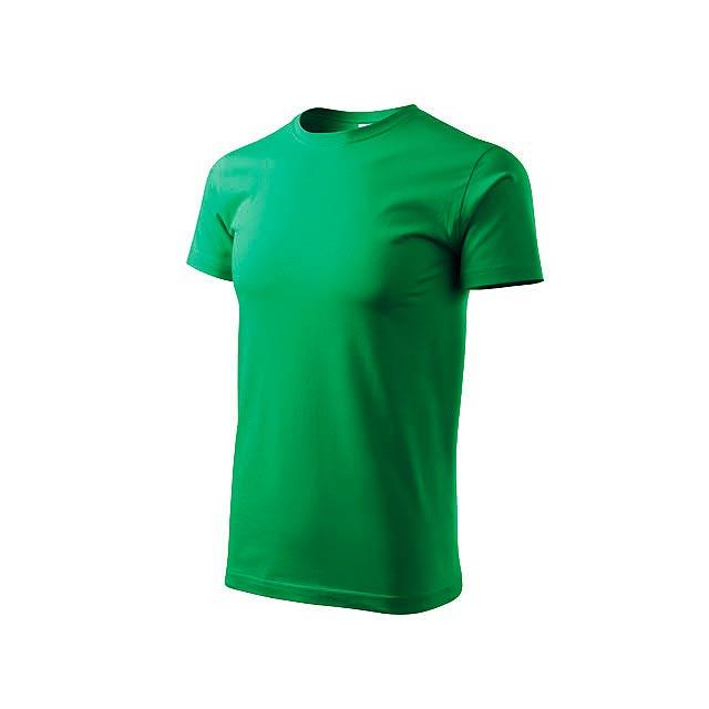 BASIC T-160 - unisex tričko 160 g/m2, vel. S, ADLER - zelená