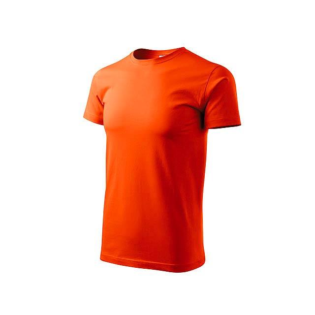 BASIC T-160 unisex tričko 160 g/m2, vel. L, ADLER, Oranžová - oranžová
