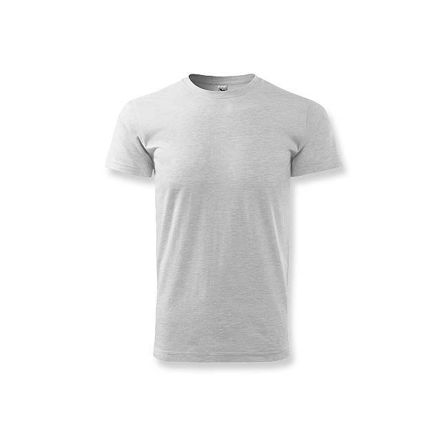 BASIC T-160 - unisex tričko 160 g/m2, vel. L, ADLER - šedá