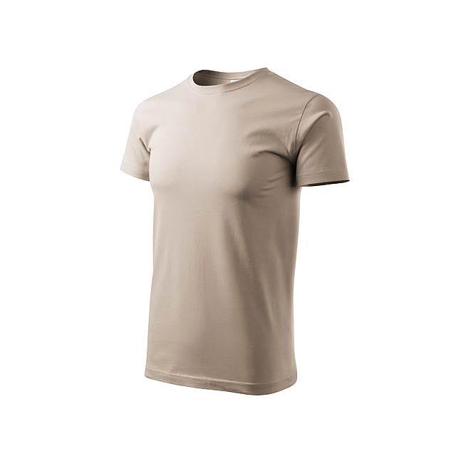 BASIC T-160 unisex tričko 160 g/m2, vel. L, ADLER, Přírodní - bílá