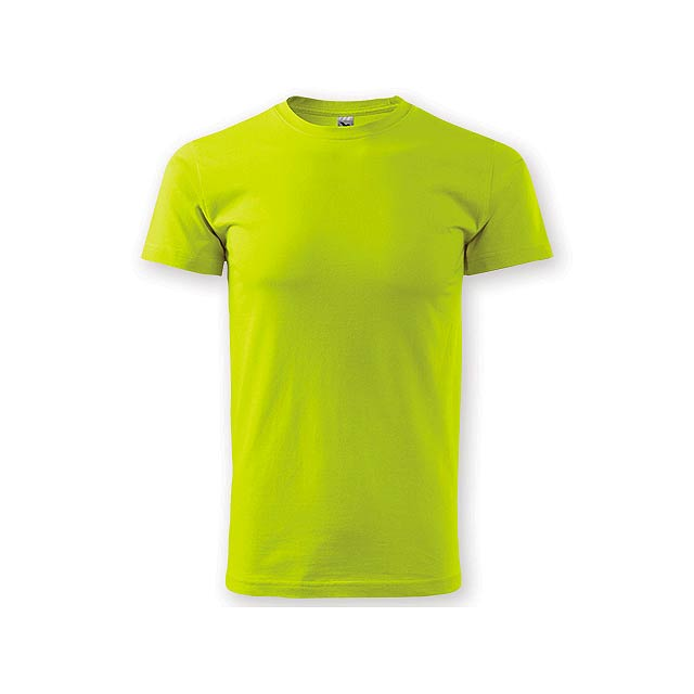 BASIC T-160 unisex tričko 160 g/m2, vel. XL, ADLER, Limetkově zelená - zelená