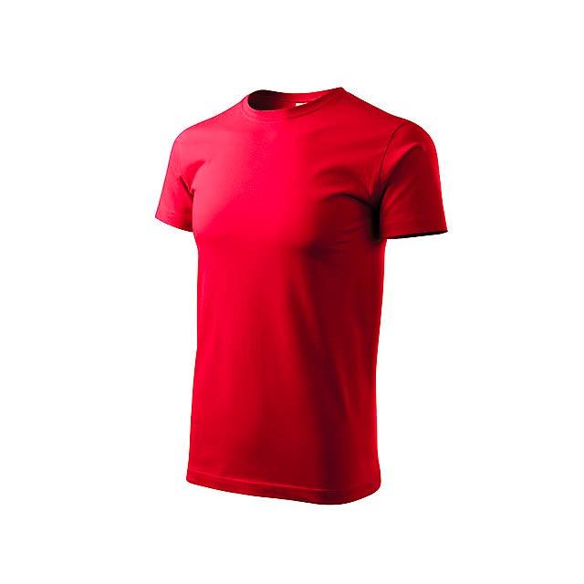 BASIC T-160 - unisex tričko 160 g/m2, vel. XXXL, ADLER - červená