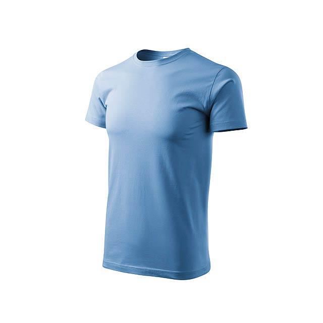 BASIC T-160 unisex tričko 160 g/m2, vel. XXXL, ADLER, Světle modrá - modrá