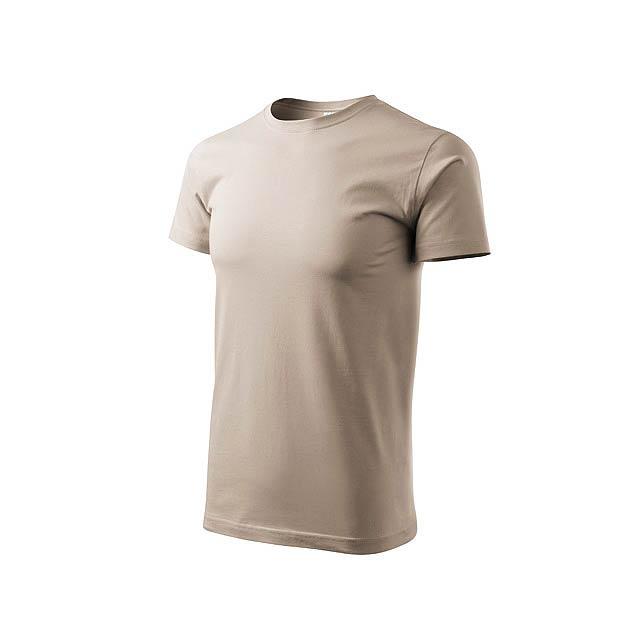 BASIC T-160 unisex tričko 160 g/m2, vel. XXXL, ADLER, Přírodní - bílá