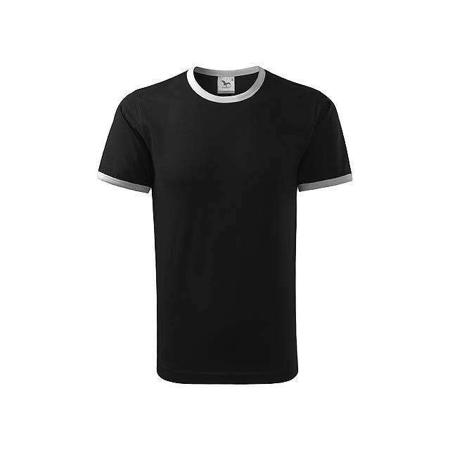 INFINITY T-180 - unisex tričko 180 g/m2, vel. S, ADLER - černá