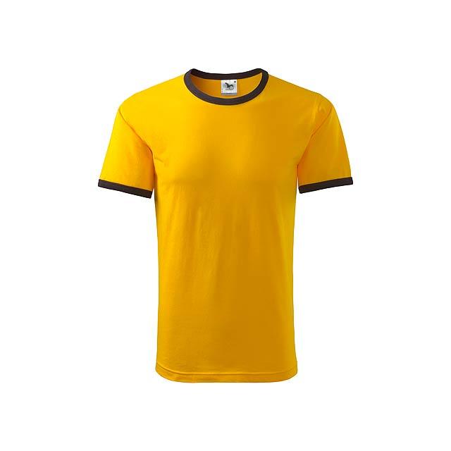 INFINITY T-180 - unisex tričko 180 g/m2, vel. L, ADLER - žlutá