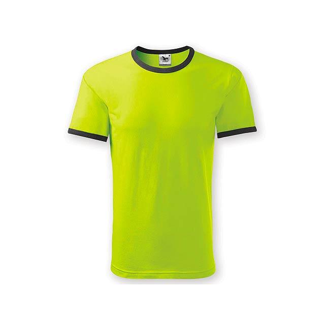 INFINITY T-180 unisex tričko 180 g/m2, vel. L, ADLER, Limetkově zelená - zelená