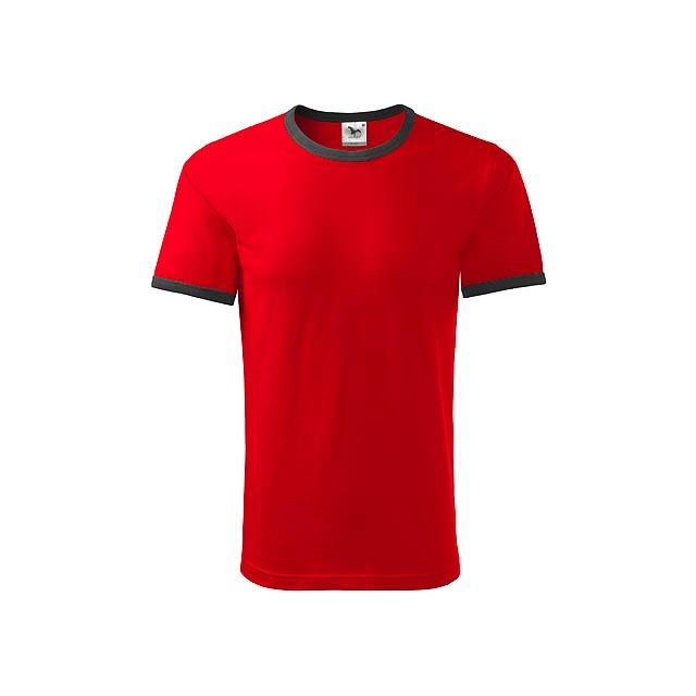 INFINITY T-180 - unisex tričko 180 g/m2, vel. XL, ADLER - červená