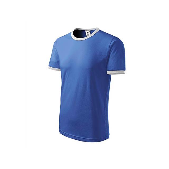 INFINITY T-180 unisex tričko 180 g/m2, vel. XXL, ADLER, Nebesky modrá - modrá