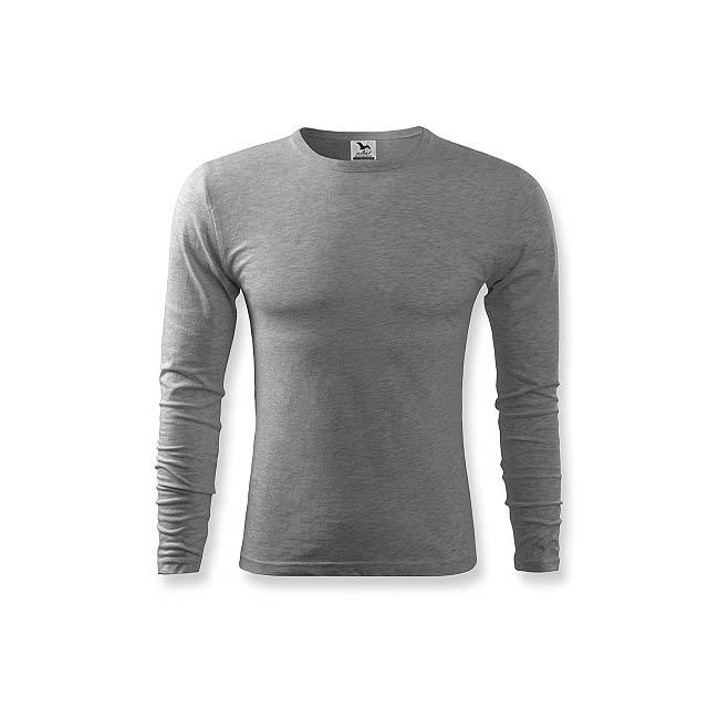 FIT-T LONG 160 - pánské tričko 160 g/m2, vel. S, ADLER - šedá