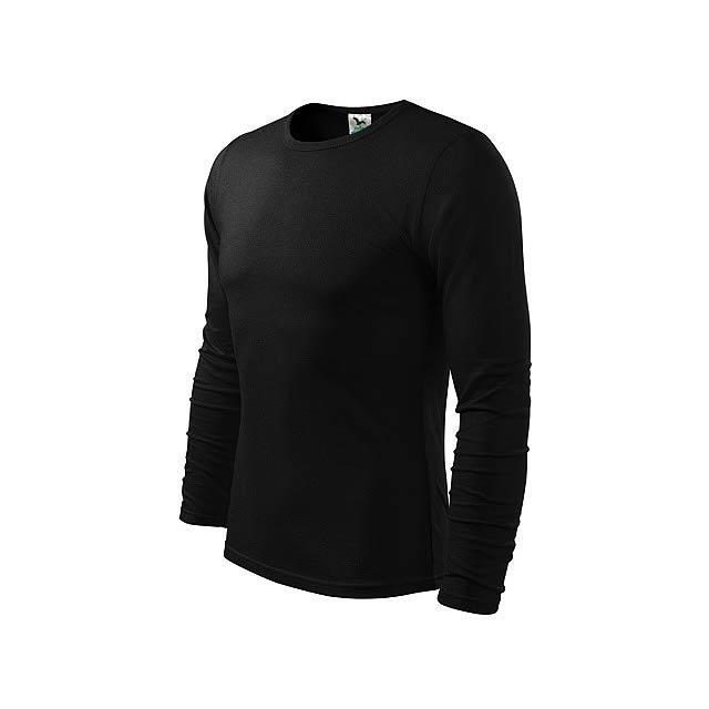FIT-T LONG 160 - pánské tričko 160 g/m2, vel. M, ADLER - černá