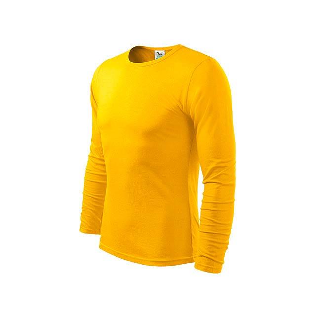 FIT-T LONG 160 - pánské tričko 160 g/m2, vel. M, ADLER - žlutá