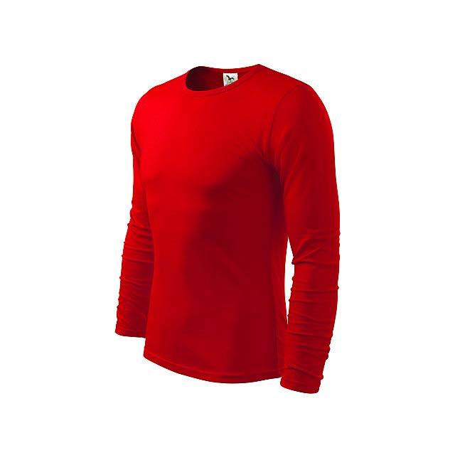 FIT-T LONG 160 - pánské tričko 160 g/m2, vel. L, ADLER - červená