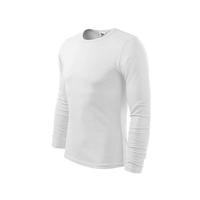 FIT-T LONG 160 - pánské tričko 160 g/m2, vel. L, ADLER - bílá