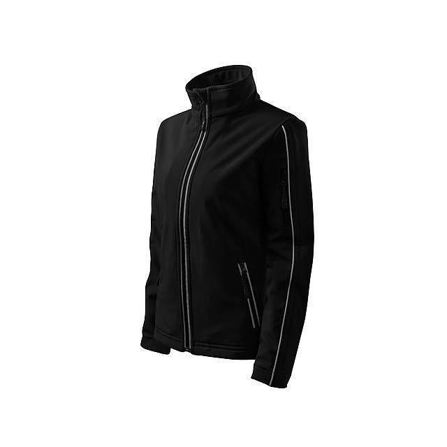 SOFTSHELL JACKET WOMEN - dámská bunda 300 g/m2, vel. L, ADLER - černá