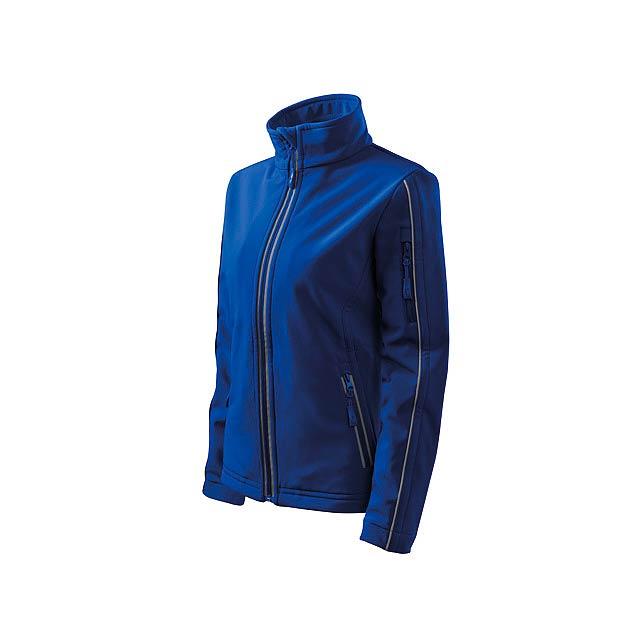 SOFTSHELL JACKET WOMEN - dámská bunda 300 g/m2, vel. L, ADLER - modrá