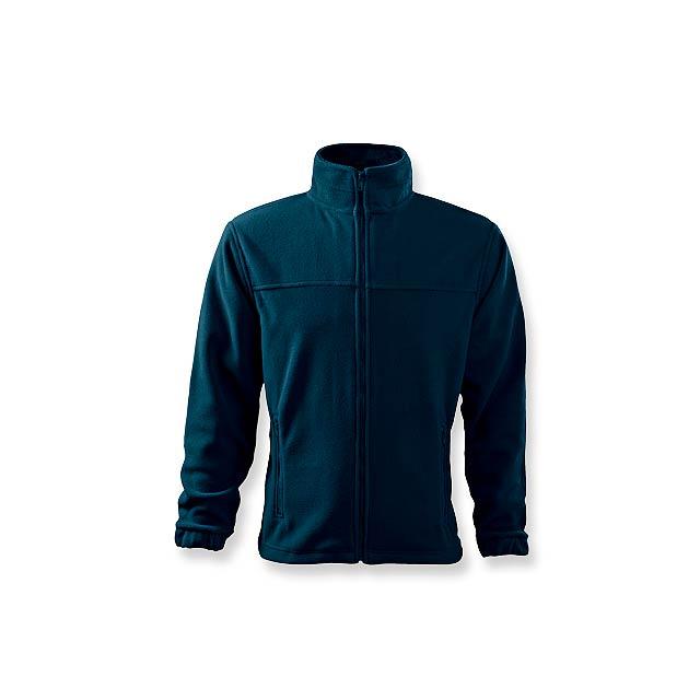 OLIVER - pánská fleecová bunda, 280 g/m2, vel. S, ADLER - modrá