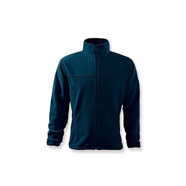 OLIVER - pánská fleecová bunda, 280 g/m2, vel. M, ADLER - modrá