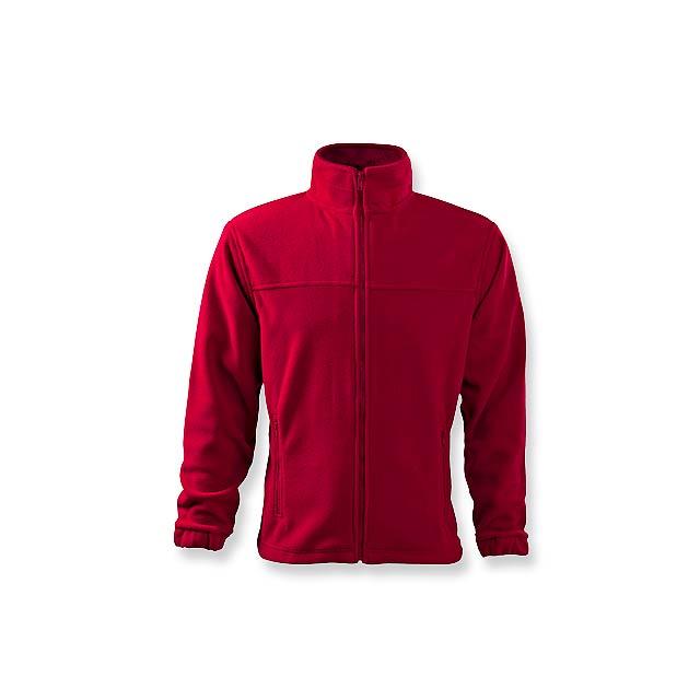 OLIVER - pánská fleecová bunda, 280 g/m2, vel. L, ADLER - červená