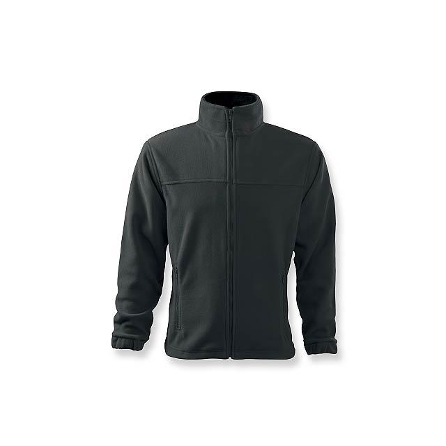 OLIVER - pánská fleecová bunda, 280 g/m2, vel. L, ADLER - šedá