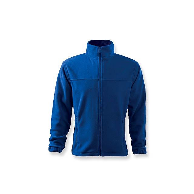 OLIVER - pánská fleecová bunda, 280 g/m2, vel. L, ADLER - modrá