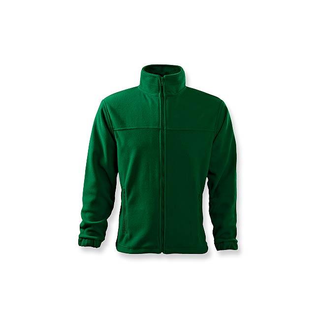 OLIVER - pánská fleecová bunda, 280 g/m2, vel. L, ADLER - zelená