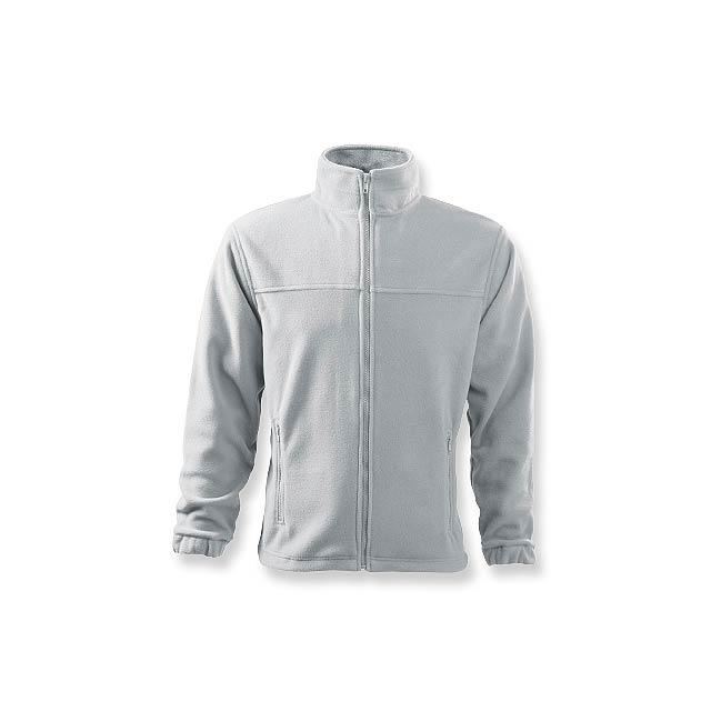 OLIVER - pánská fleecová bunda, 280 g/m2, vel. XL, ADLER - bílá