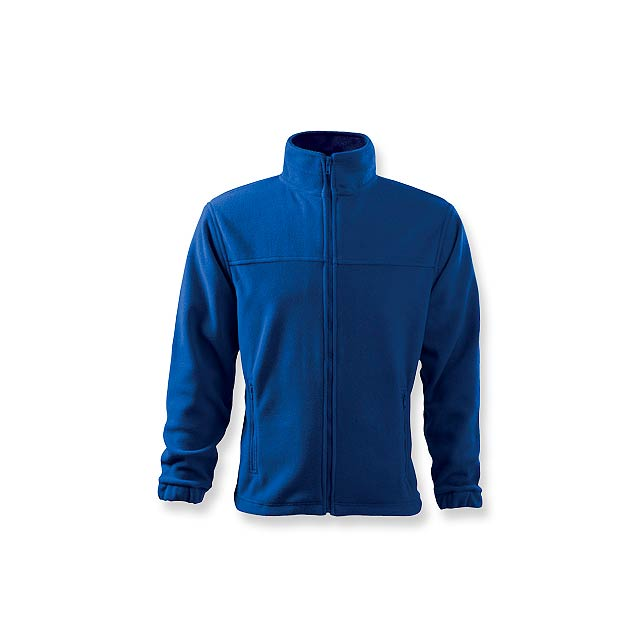 OLIVER - pánská fleecová bunda, 280 g/m2, vel. XL, ADLER - modrá