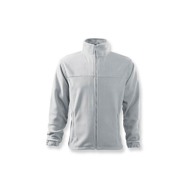 OLIVER - pánská fleecová bunda, 280 g/m2, vel. XXL, ADLER - bílá