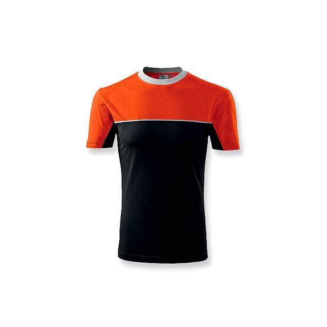 FLOYD pánské tričko 200 g/m2, vel. S, ADLER, Oranžová - oranžová