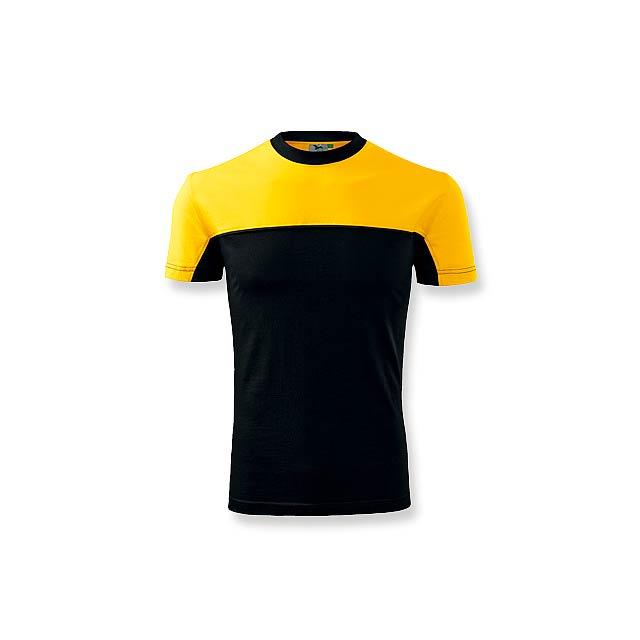 FLOYD - pánské tričko 200 g/m2, vel. L, ADLER - žlutá