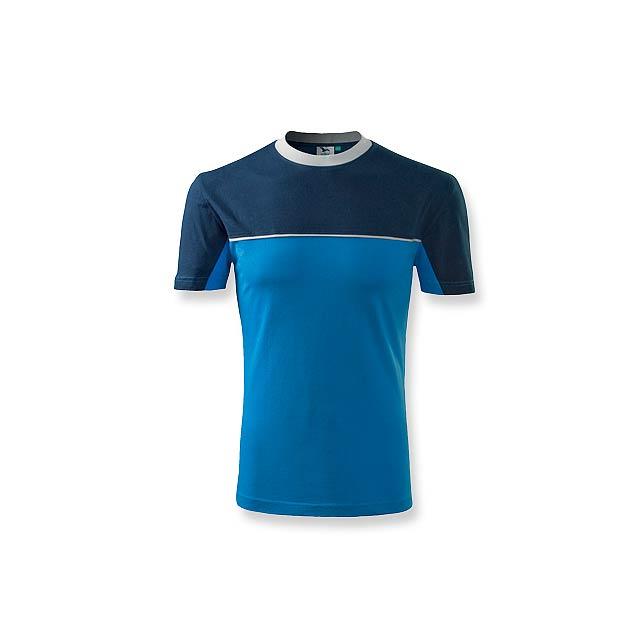 FLOYD - pánské tričko 200 g/m2, vel. L, ADLER - modrá