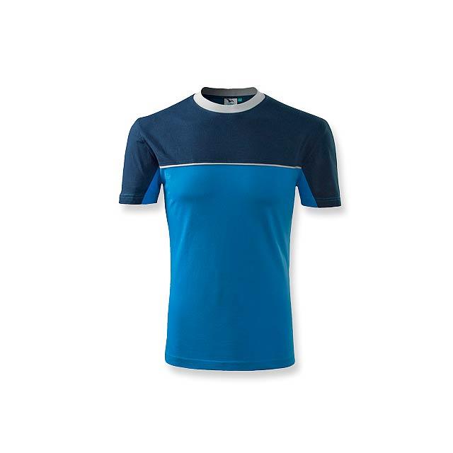 FLOYD - pánské tričko 200 g/m2, vel. XXL, ADLER - modrá