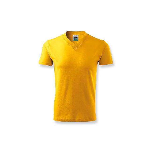 LUKA - unisex tričko 160 g/m2, vel. M, ADLER - žlutá