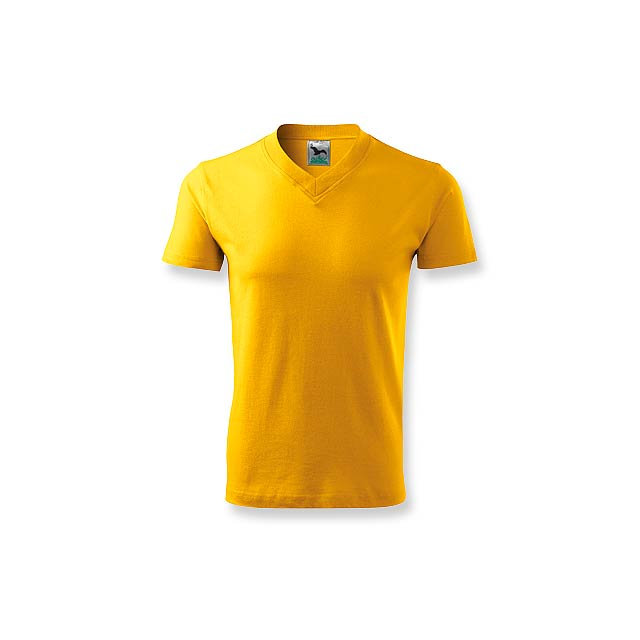 LUKA - unisex tričko 160 g/m2, vel. L, ADLER - žlutá