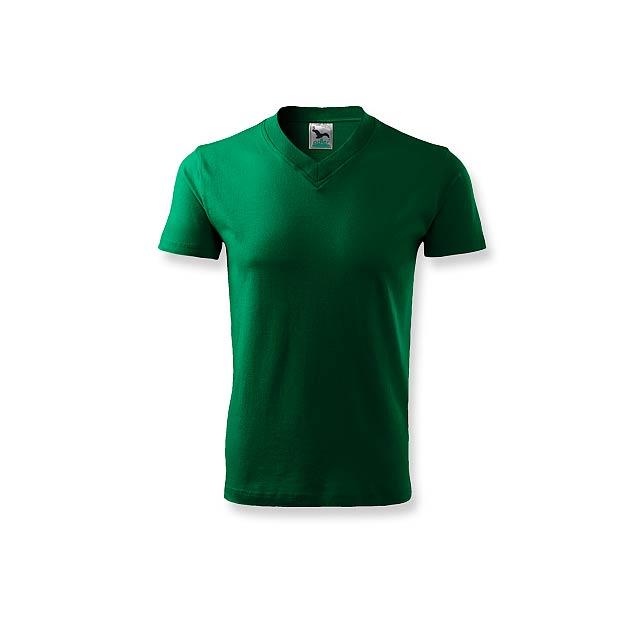 LUKA - unisex tričko 160 g/m2, vel. XL, ADLER - zelená