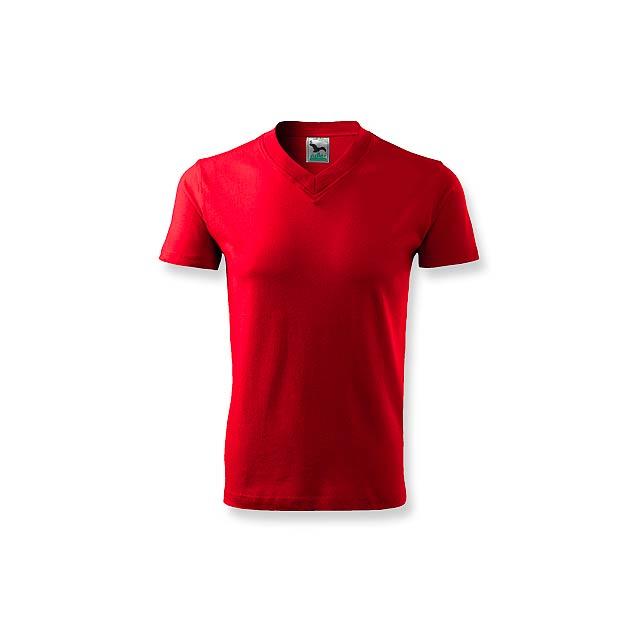 LUKA - unisex tričko 160 g/m2, vel. XXL, ADLER - červená