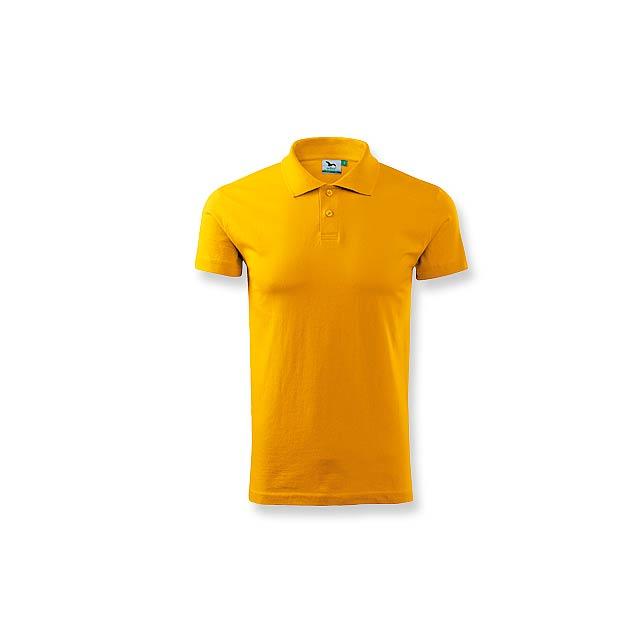 POLOSHIRT - polokošile hladká 180g, vel. XL - žlutá