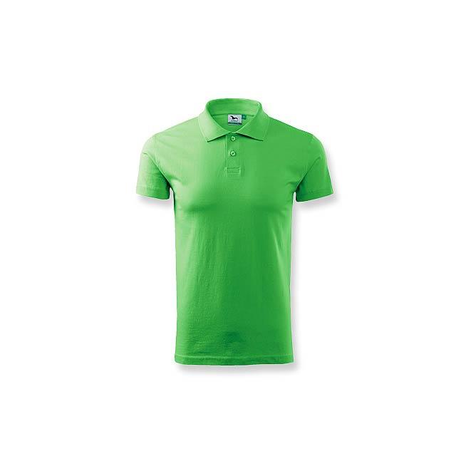 POLOSHIRT polokošile hladká 180g, vel. XL, ADLER, Světle zelená - zelená