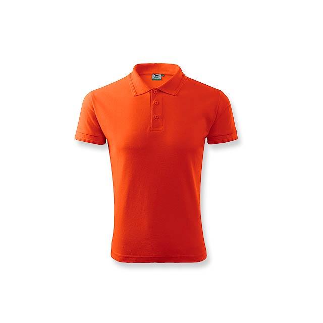 POLOMIX pánská polokošile 200 g/m2, vel. L, ADLER, Oranžová - oranžová