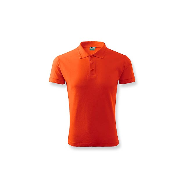 POLOMIX pánská polokošile 200 g/m2, vel. XL, ADLER, Oranžová - oranžová