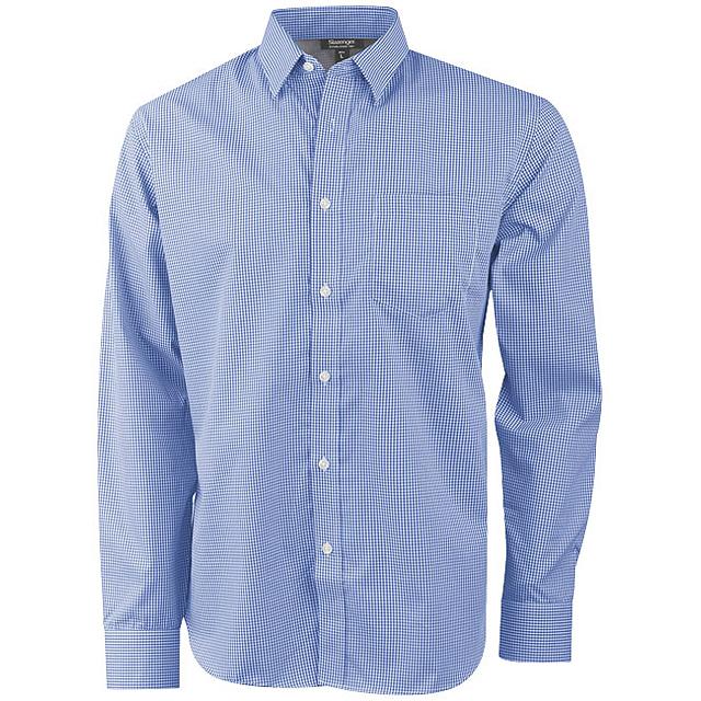 Košile Net s dlouhým rukávem - modrá