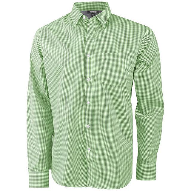 Košile Net s dlouhým rukávem - zelená