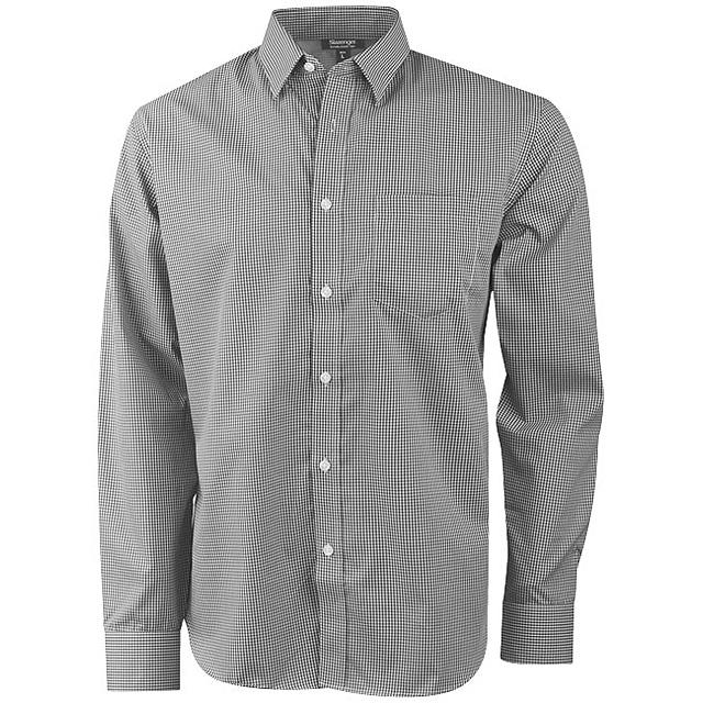 Košile Net s dlouhým rukávem - šedá