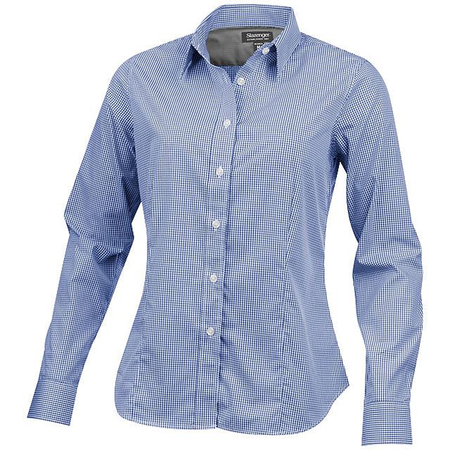 Dámská košile Net s dlouhým rukávem - modrá