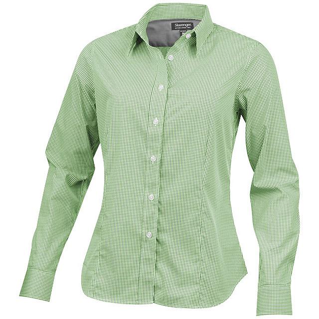 Dámská košile Net s dlouhým rukávem - zelená