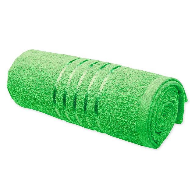 TROPIC I - ručník, 400 g/m2, SANTINI - zelená