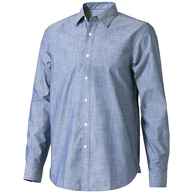 Košile s dlouhým rukávem Lucky - modrá